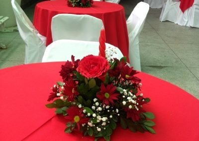 Ornamentação de Salão Festas – Bangu, RJ.